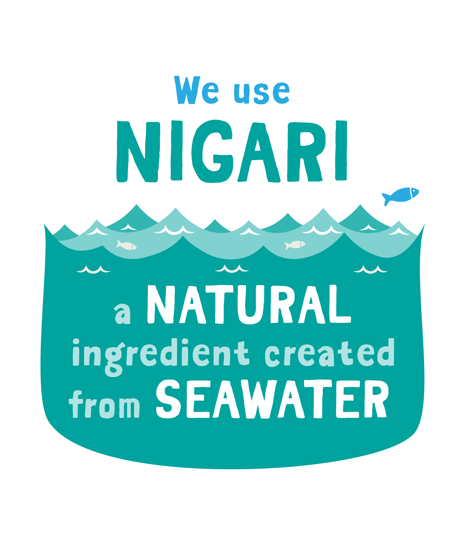 We make our tofu using nigari
