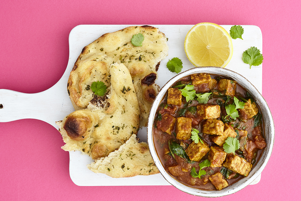 Tempeh Cubed Madras Curry