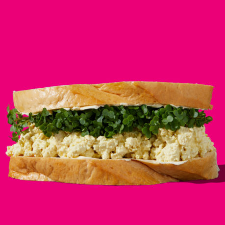 Tofoo Egg and Cress Sandwich
