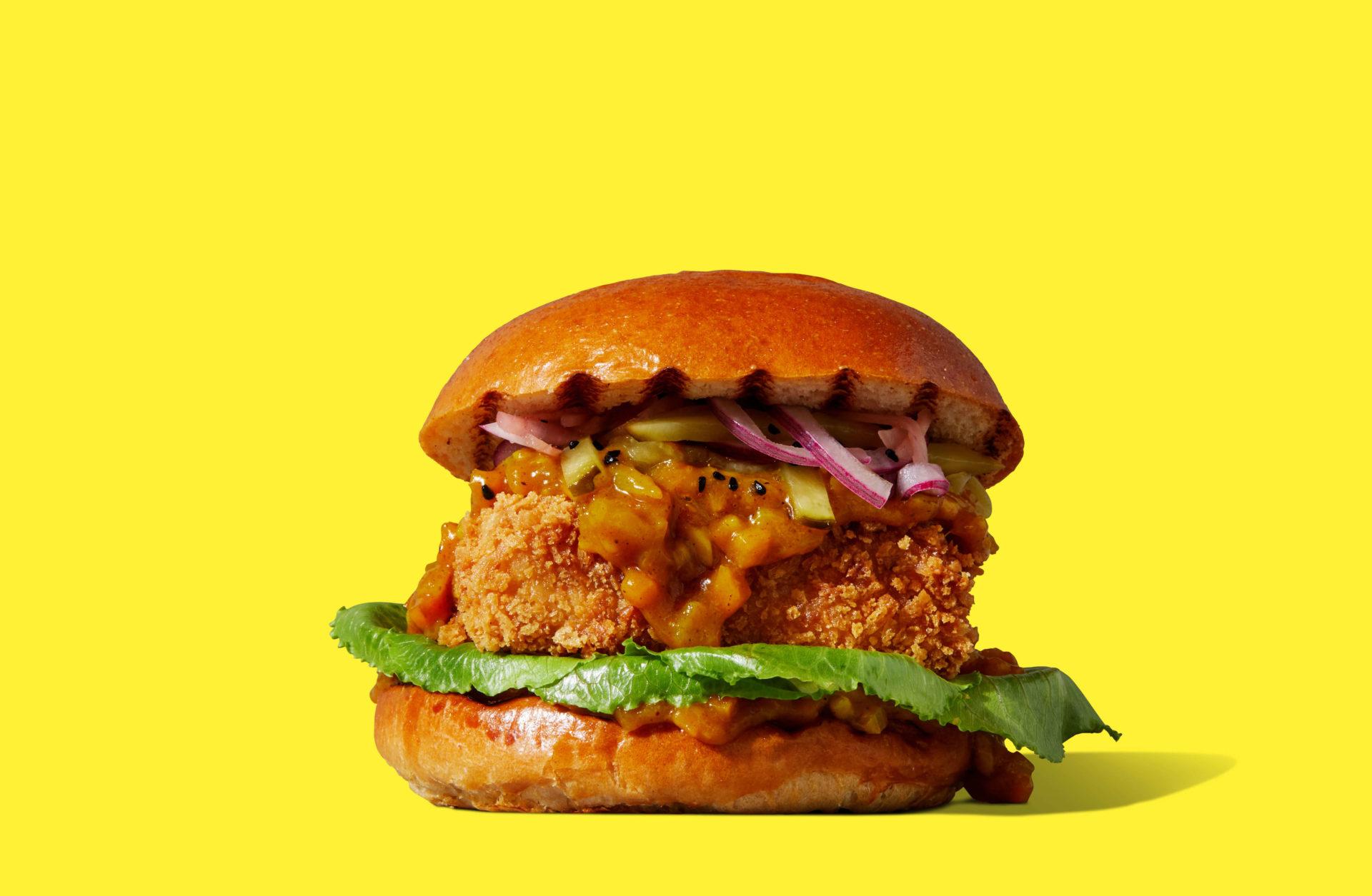 Tofoo Katsu Burger