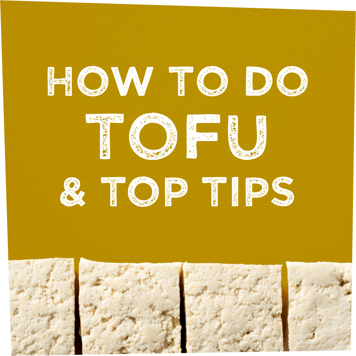 How to do Tofoo & Tips